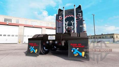 Schlamm-klappen Halten auf Truckin für American Truck Simulator