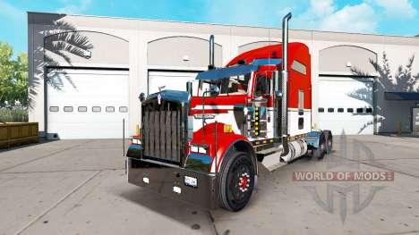 Kenworth W900 für American Truck Simulator