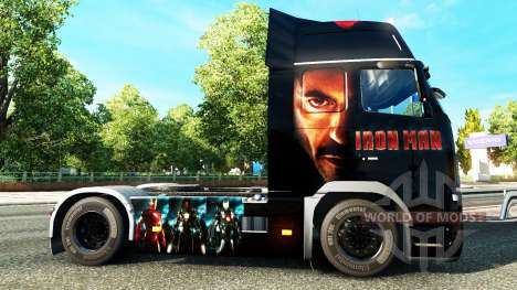 Ironman de la peau pour Volvo camion pour Euro Truck Simulator 2