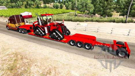Low sweep Case IH Quadtrac 600 für American Truck Simulator