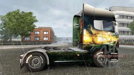 La peau de Pirates des Caraïbes-sur tracteur Sca pour Euro Truck Simulator 2