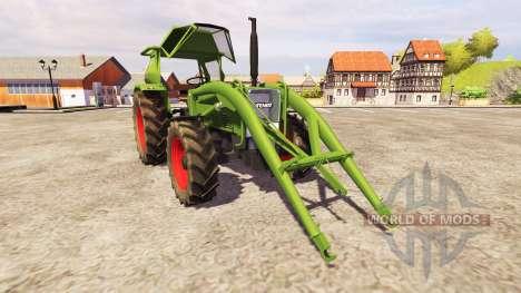 Fendt Favorit 4S FL v2.1 für Farming Simulator 2013