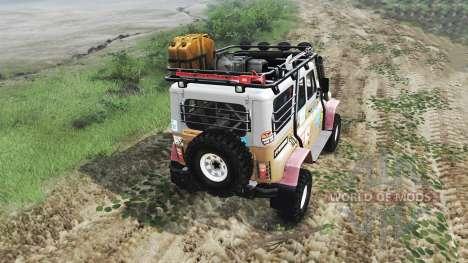 UAZ-31514 [03.03.16] pour Spin Tires