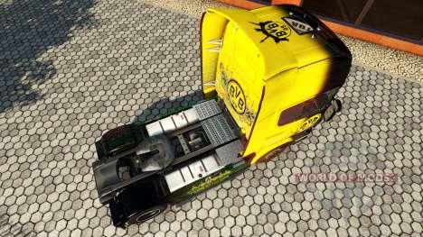 BvB de la peau pour le camion Scania pour Euro Truck Simulator 2