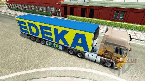 La semi-remorque EDEKA pour Euro Truck Simulator 2