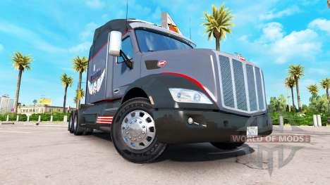 Die russische mafia skin für den truck Peterbilt für American Truck Simulator
