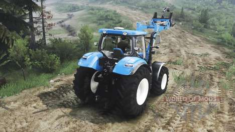 New Holland T6.160 FL [25.12.15] für Spin Tires