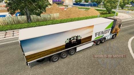 Der Auflieger Fendt für Euro Truck Simulator 2