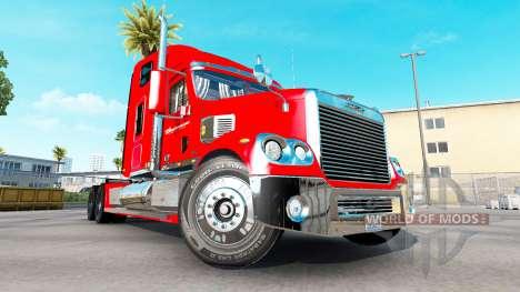 La peau sur la Budweiser tracteur Freightliner C pour American Truck Simulator