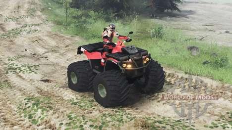 Can-Am Outlander 1000 XT [03.03.16] pour Spin Tires
