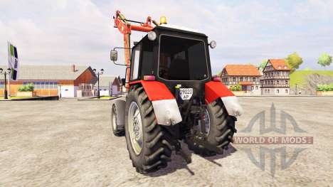 MTZ-1025 [loader] für Farming Simulator 2013