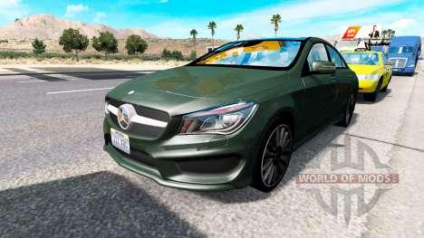 De nouvelles voitures dans le trafic pour American Truck Simulator
