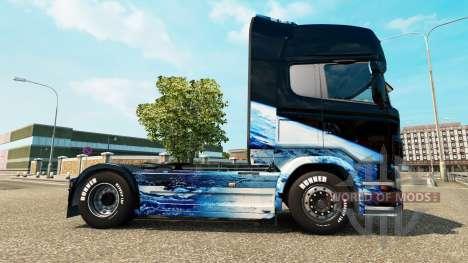 La terre de la peau pour Scania camion pour Euro Truck Simulator 2