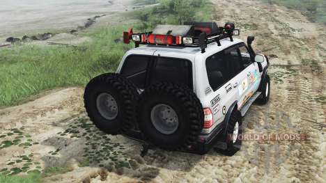 Toyota Land Cruiser 105 [25.12.15] pour Spin Tires
