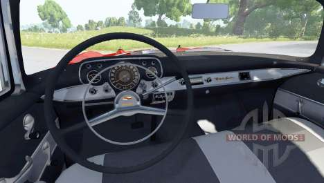 Chevrolet Bel Air Coupe 1957 für BeamNG Drive