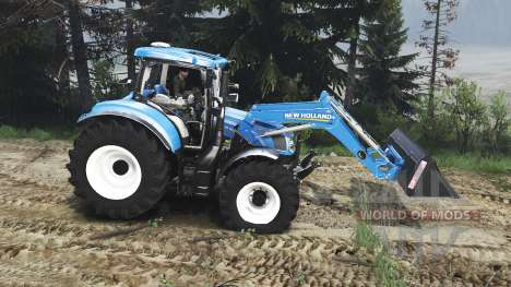 New Holland T6.160 FL [25.12.15] pour Spin Tires