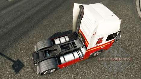 24 FDNY skin für Volvo-LKW für Euro Truck Simulator 2