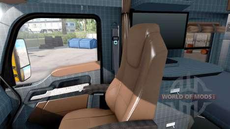 De nouvelles couleurs de l'intérieur Kenworth T6 pour American Truck Simulator