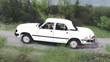GAZ-3110 Wolga [25.12.15] für Spin Tires