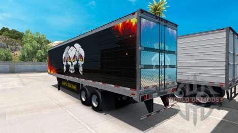 Kühl-Sattelauflieger von LKW-Reaper für American Truck Simulator