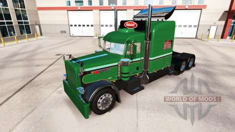 Skins für den Peterbilt 389-LKW für American Truck Simulator