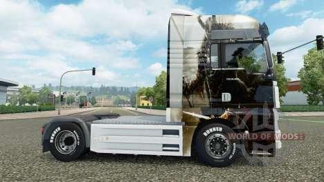 Haut Guild Wars 2 auf der LKW-MANN für Euro Truck Simulator 2