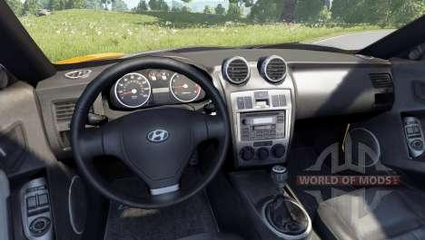 Hyundai Tiburon V6 Coupe 2003 pour BeamNG Drive
