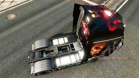 Ironman skin für Volvo-LKW für Euro Truck Simulator 2