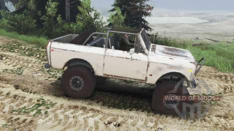 International Scout II 1977 [25.12.15] pour Spin Tires
