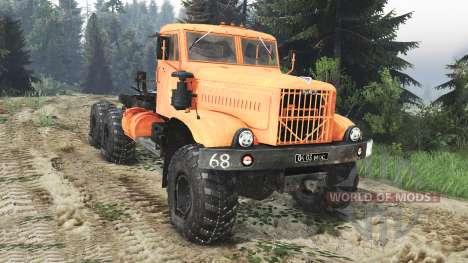 KRAZ-255 B1 [25.12.15] für Spin Tires