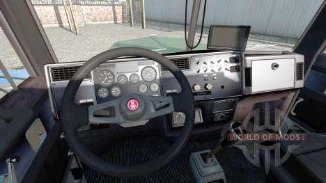 Kenworth W900L v1.5 für Euro Truck Simulator 2