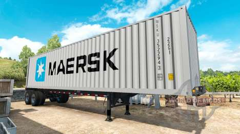 Semi-remorque contenant v0.1 pour American Truck Simulator