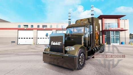 Haut Wikinger truck-Peterbilt 389 für American Truck Simulator