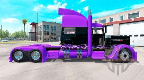 La course de la peau pour le camion Peterbilt 38 pour American Truck Simulator