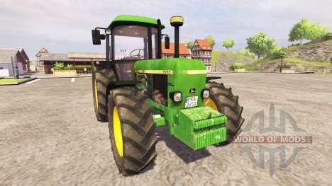 John Deere 3650 pour Farming Simulator 2013