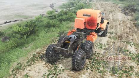 Kraz-255 B1 [25.12.15] pour Spin Tires