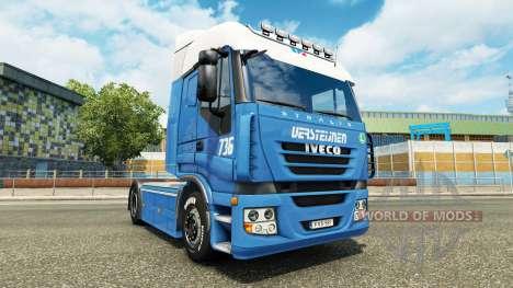 Versteijnen-skin für Iveco-Zugmaschine für Euro Truck Simulator 2