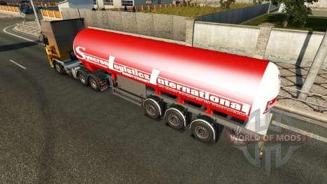 La Remorque Syncron Logistique Internationale pour Euro Truck Simulator 2