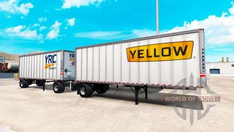 Semi-trailer für American Truck Simulator