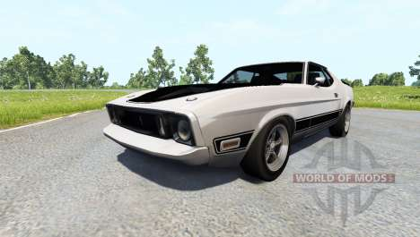 Ford Mustang Mach 1 pour BeamNG Drive