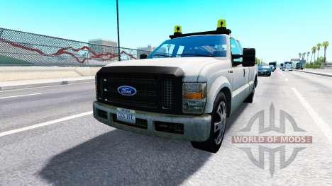 Ford F-250 Service [traffic] pour American Truck Simulator