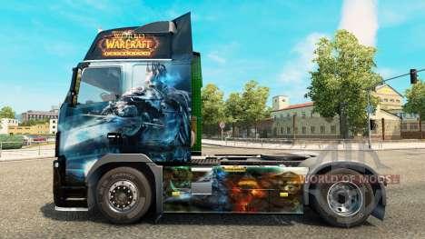 Die World of Warcraft skin für Volvo-LKW für Euro Truck Simulator 2
