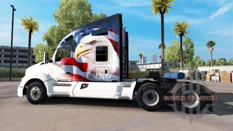 La peau U. S. A. Aigle sur un tracteur Kenworth pour American Truck Simulator