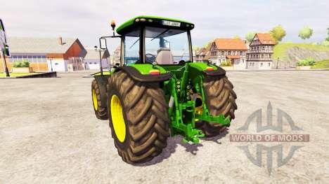 John Deere 8360R [front linkage] v2.1 pour Farming Simulator 2013