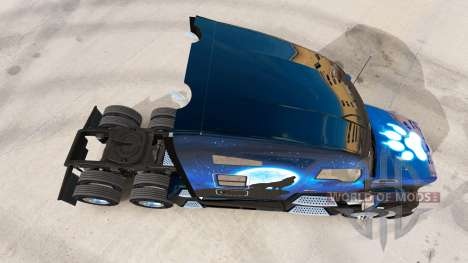 Wolf-skin für die Kenworth-Zugmaschine für American Truck Simulator