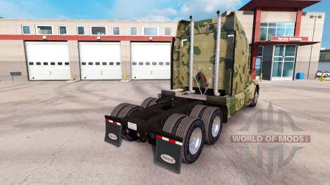 Camouflage-skins für den Peterbilt und Kenworth- für American Truck Simulator