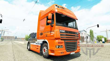 GSG skin for DAF truck pour Euro Truck Simulator 2