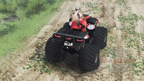 Can-Am Outlander 1000 XT [03.03.16] pour Spin Tires
