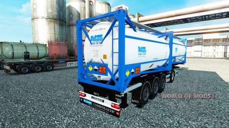 Semitrailer tank Nijman Zeetank v2.0 für Euro Truck Simulator 2