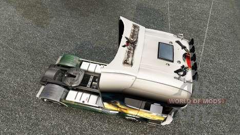 Haut Fluch der Karibik-on-Traktor für Scania für Euro Truck Simulator 2